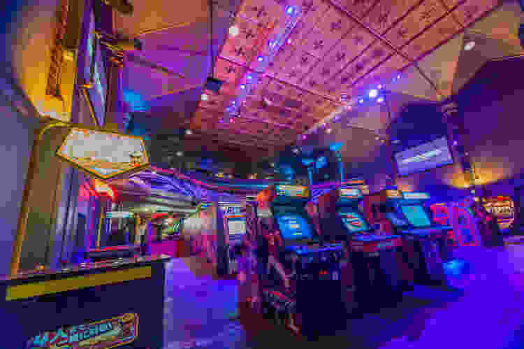 Take your kid-at-heart dad to an arcade this Father's Day