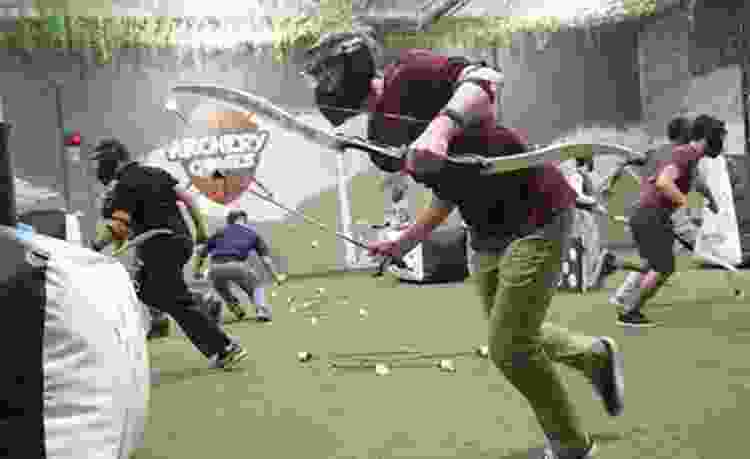 play archery games for unique team building activities in boston