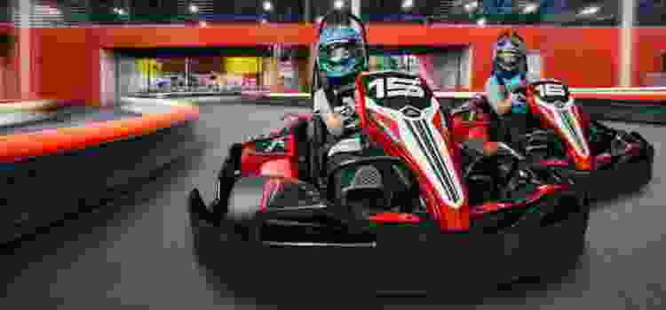 Make your next Los Angeles team building activity a fun night of Go Kart racing!