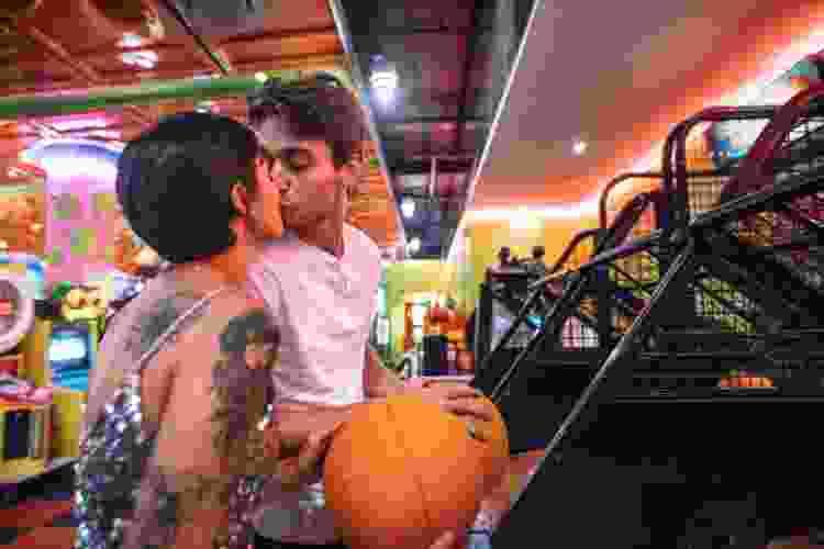 a boozy arcade is a fun date idea in houston