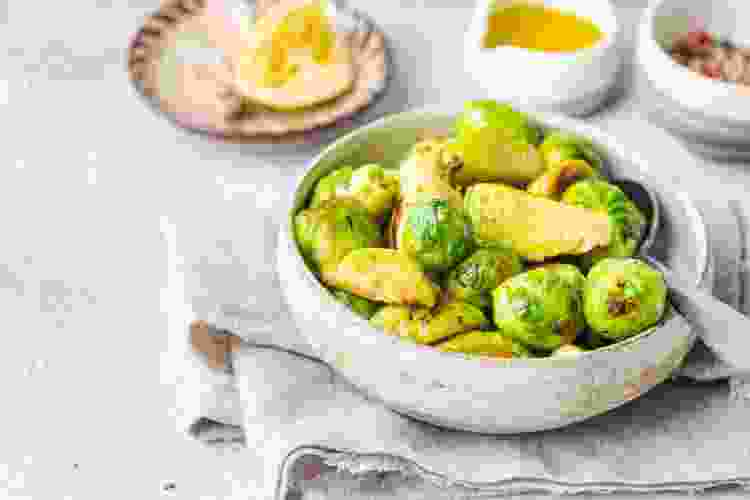 brussels sprouts pair nicely with pinot noir