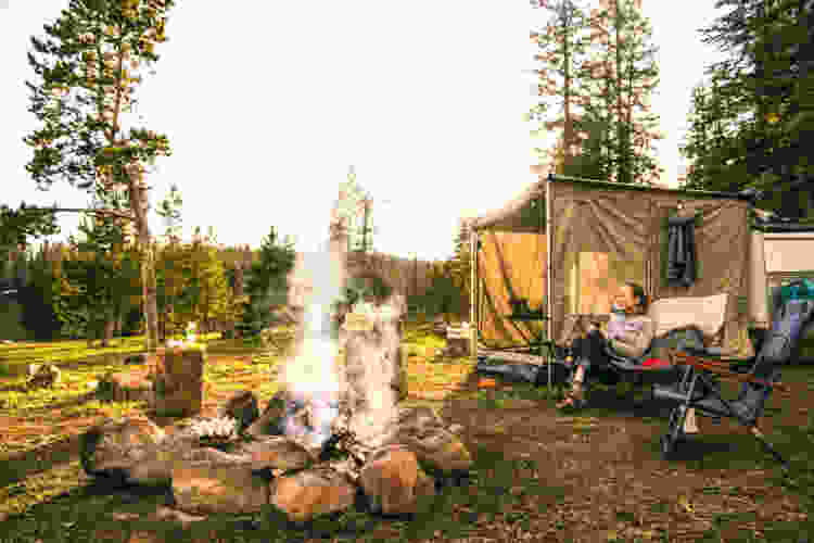 book a campsite as a gift for your adventurous friends