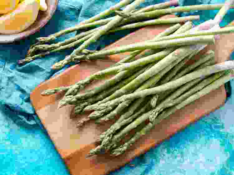 asparagus are a great spring vegetable to cook with