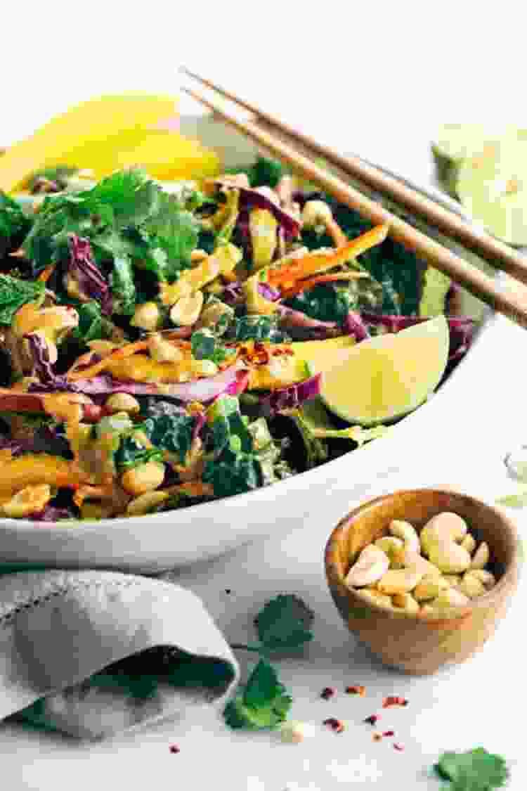 thai salad bowl recipe from jessica gavin