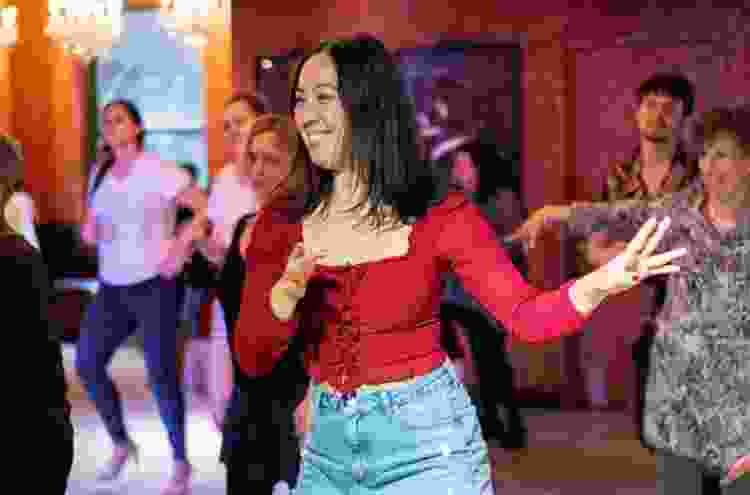 group dance lessons make for exciting team building activities in austin