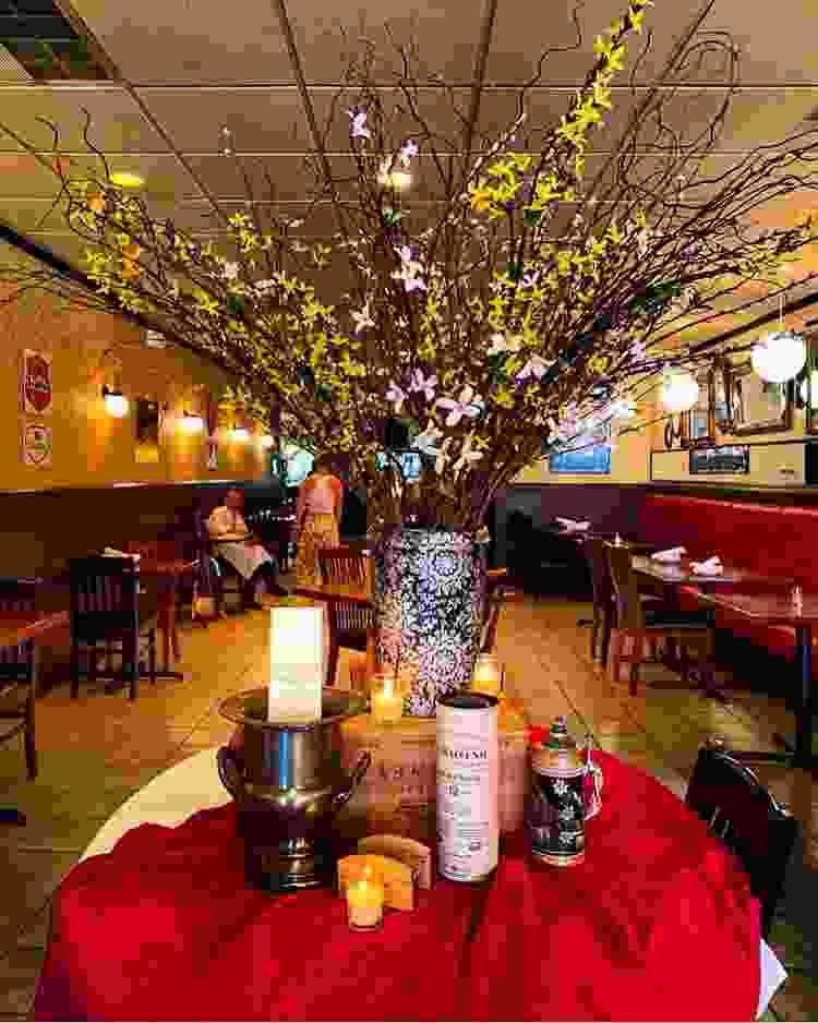dario's brasserie in nebraska is one of the most warm and cozy restaurants in the u.s.