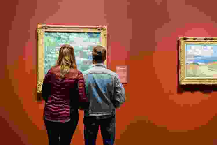 visit an art gallery for a creative date idea in denver