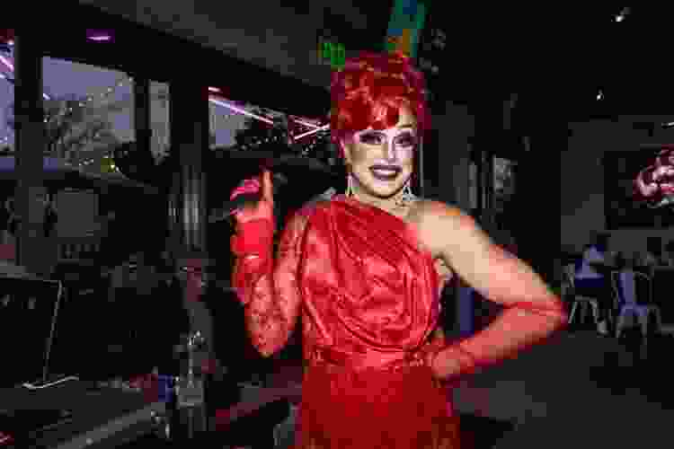 drag performer at R House Wynwood