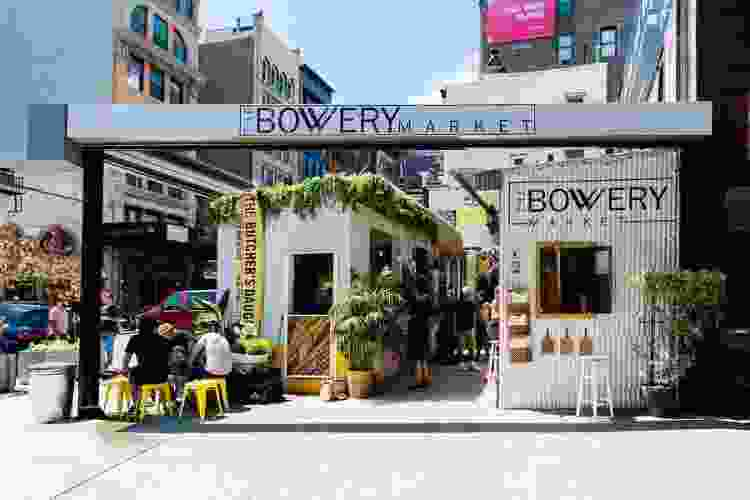 the bowery market is one of the best food halls in nyc