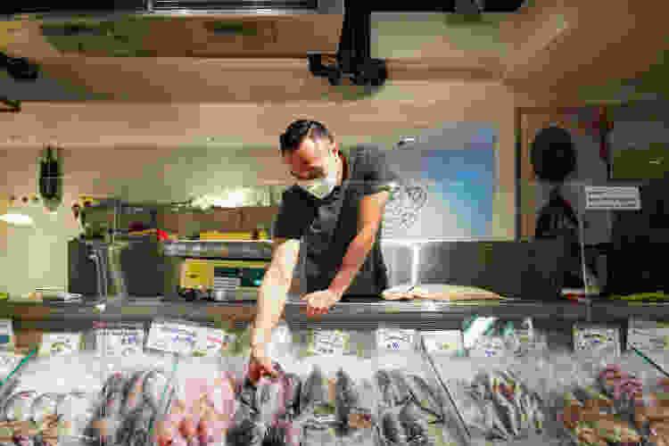 fishmonger at essex market