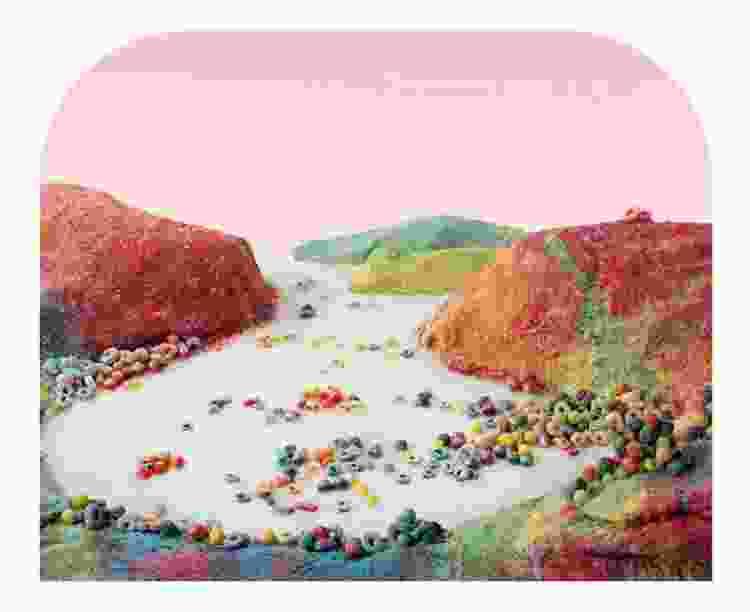fruit loop landscape