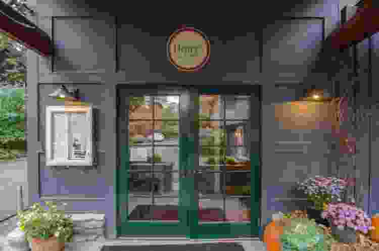 stop in Henry's at Buttermilk Falls Inn for farm-to-table fare
