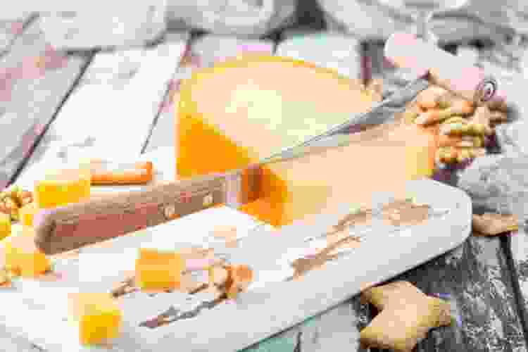 red burgundy and gouda is a class wine and cheese pairing