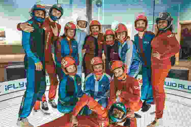indoor skydiving is one of the most fun team building activities in san diego