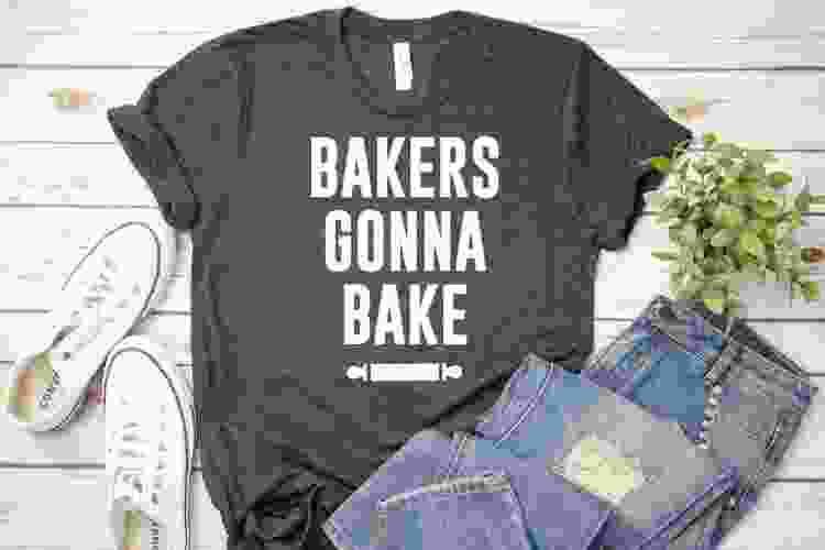 a bakers gonna bake tshirt is a funny gift for bakers