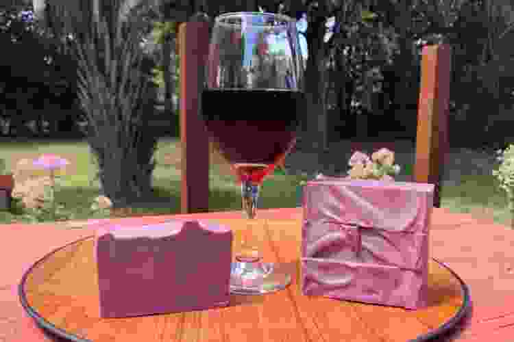 wine soaps are a fun wine gift