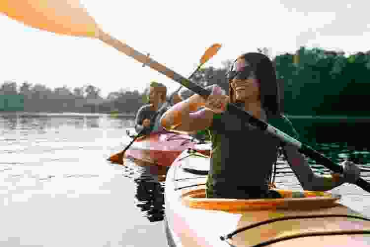 kayaking the oleta river is a fun date idea in miami