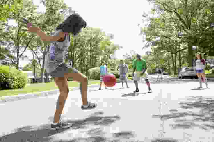 organize a family kickball game for one of the best things to do on father's day