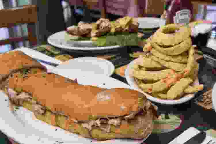 frenchaletta sandwich at liuzza's