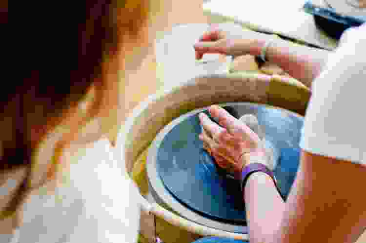 give the gift of pottery classes