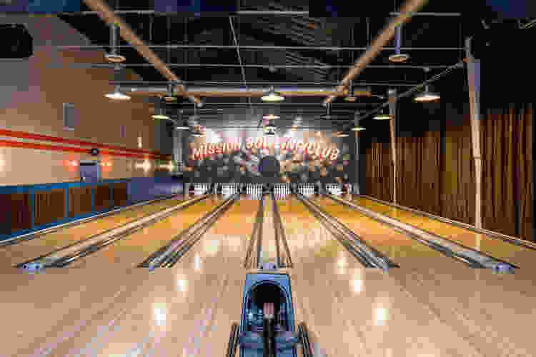 mission bowling club bowling lanes