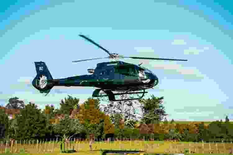 book a helicopter tour as an experience gift