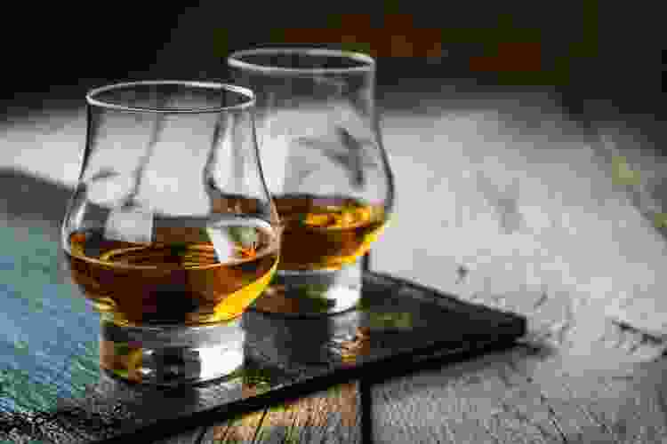 a virtual whiskey tasting is a fun mother's day activity