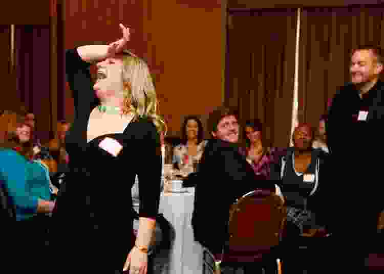 a murder mystery dinner is a fun team building activity to do in san francisco
