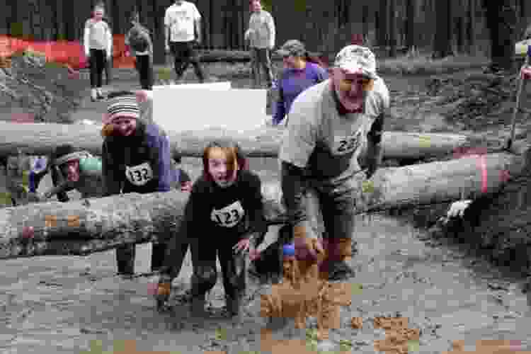mud runs are one of the most unique things to do on father's day