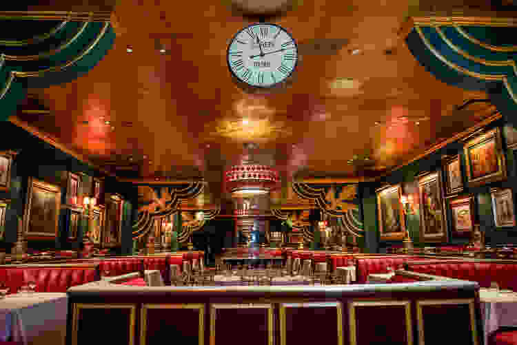 Have a fun date night at The Russian Tea Room