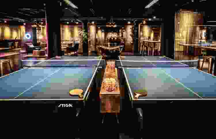 Experience upscale ping pong for a fun New York date night