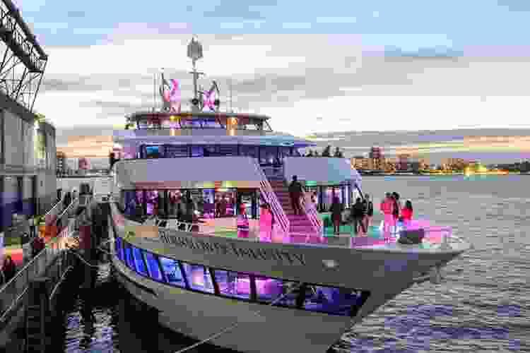 Take a night cruise for a fun date night in nyc