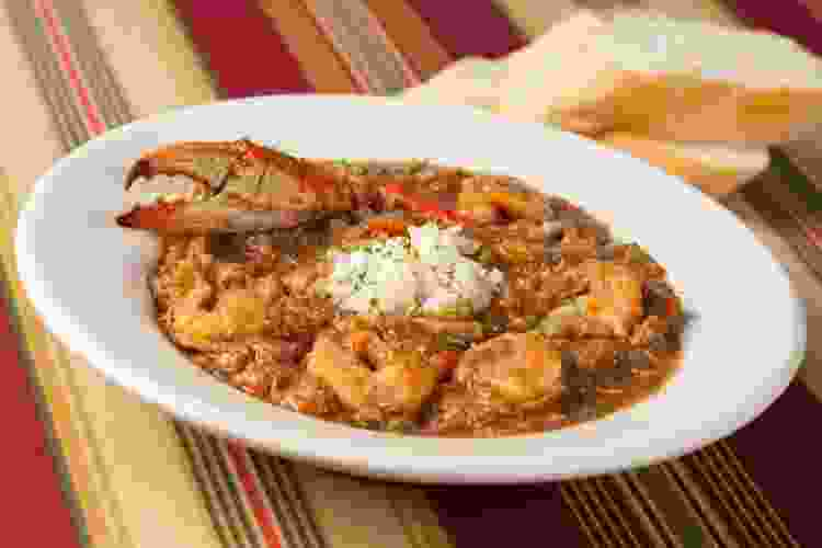 étouffée from oceana grill in new orleans