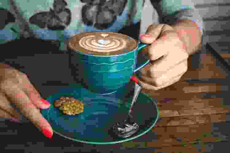 online coffee classes are a fun virtual birthday idea