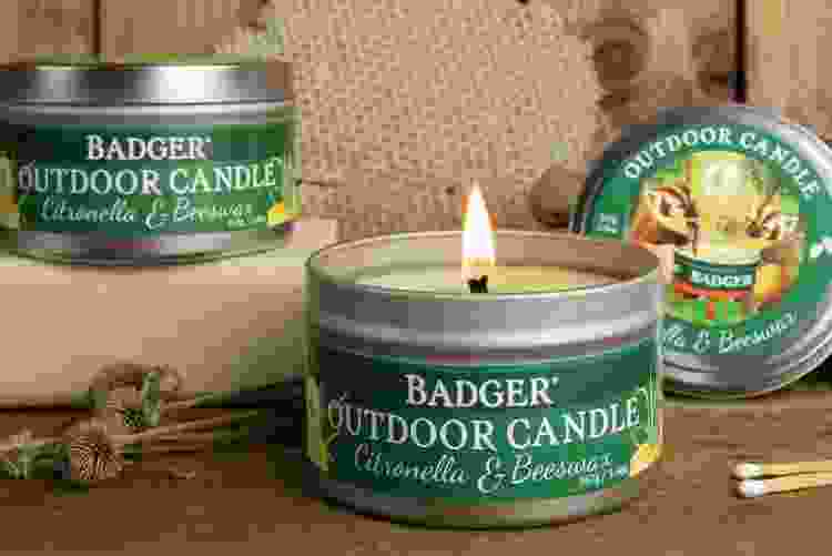 Badger Balm Citronella Candle