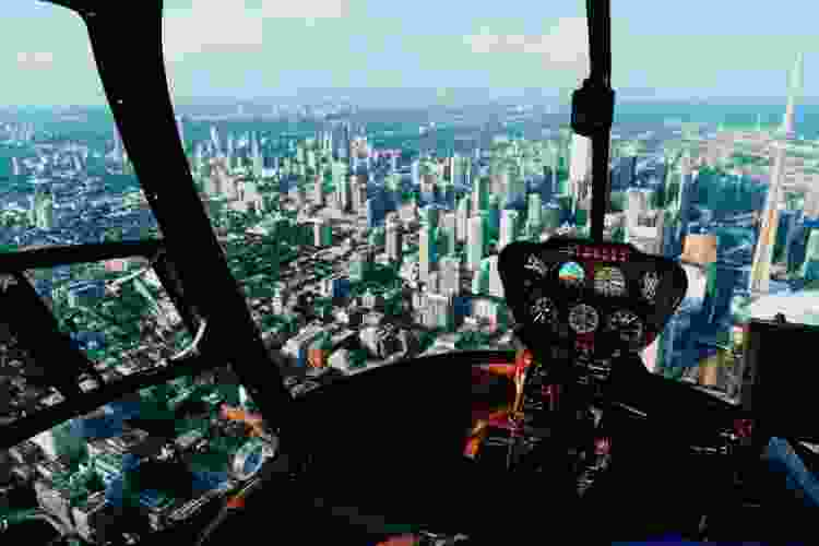 take a helicopter tour for a special and unique 40th birthday party idea