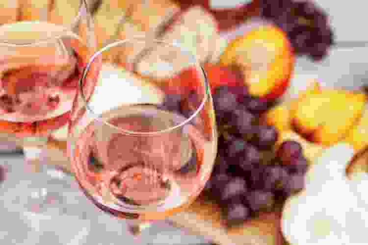 rosé is one of the most common types of wine