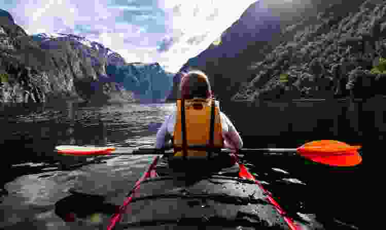 kayaking is an exceptional experience gift