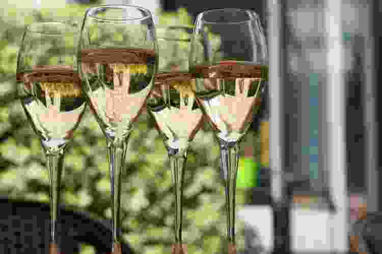 sparkling wine is a popular type of wine