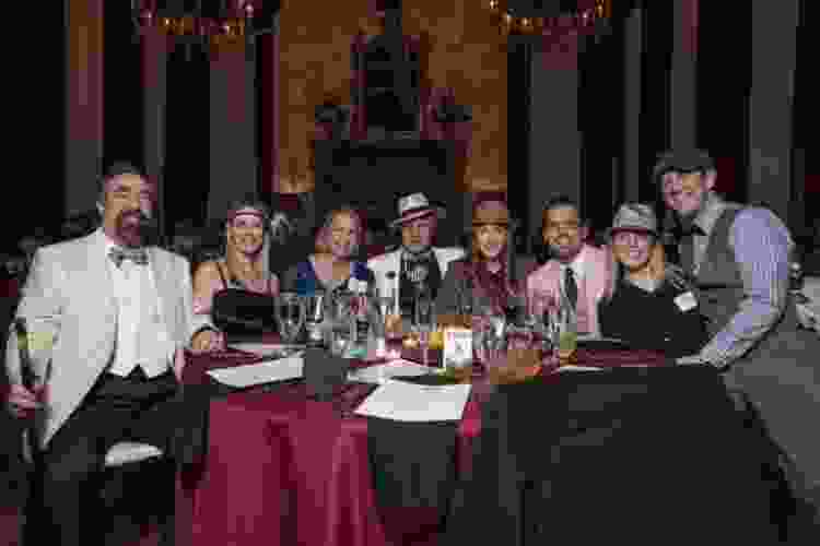 a murder mystery night is a unique boston team building activity