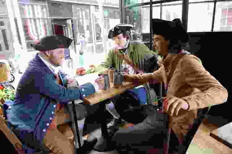 go on a historic pub crawl for a fun team building activity in boston