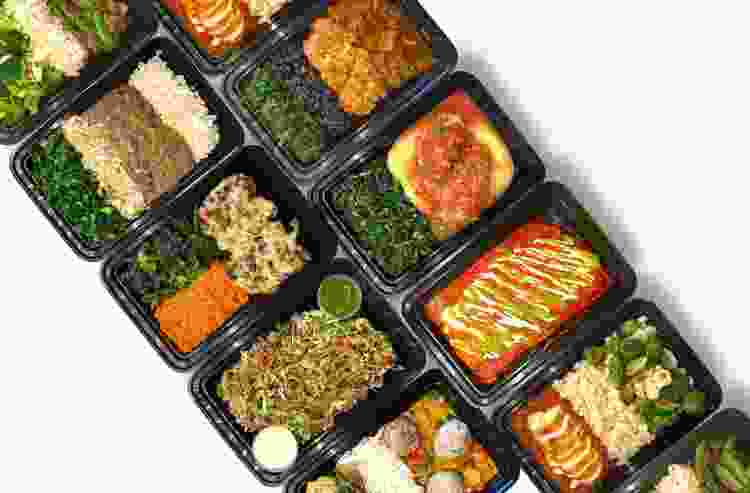 meal prep delivery service containers