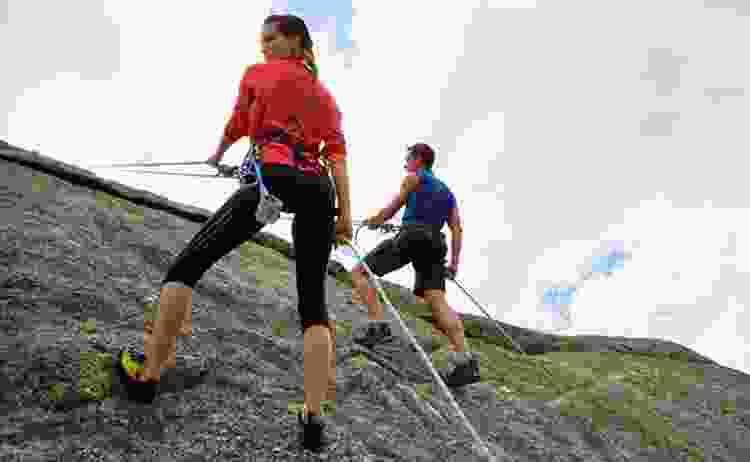rock climbing is a romantic Valentine's Day idea
