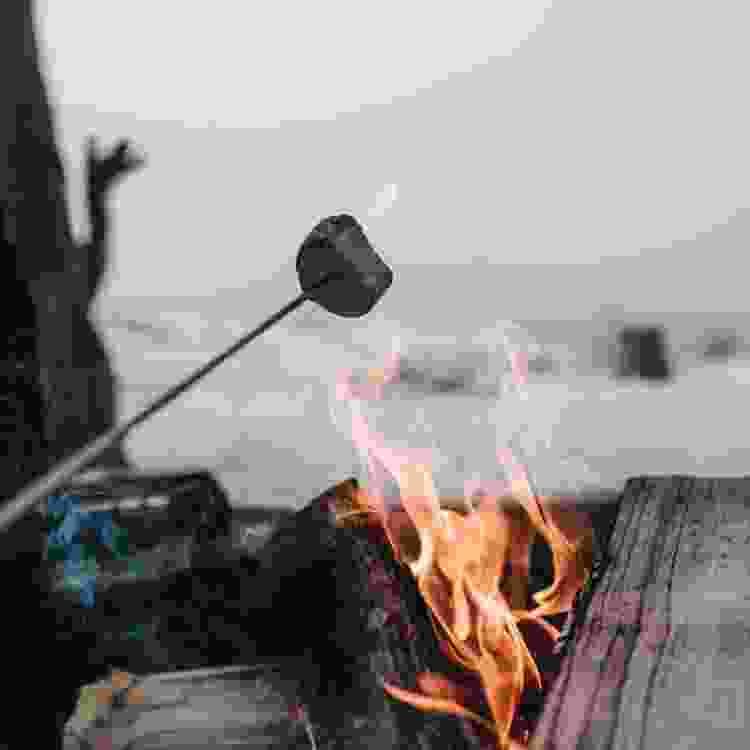 have a bonfire for a romantic Valentine's Day idea