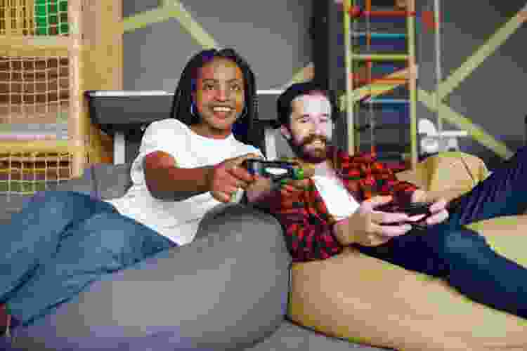 a video game competition is a fun double date idea