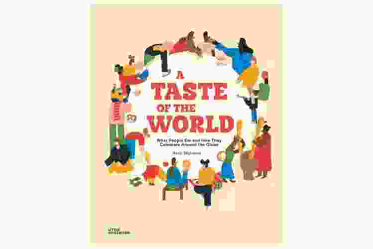 a taste of the world cookbook is a great gift for neighbors with kids