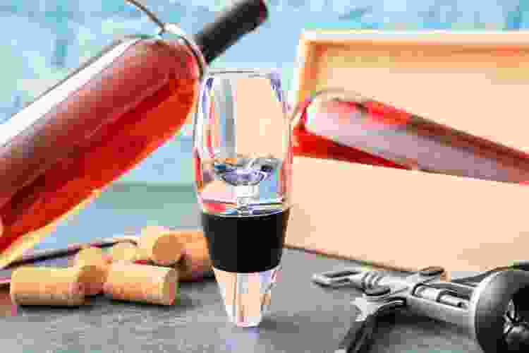 aerating glasses are popular types of wine glasses