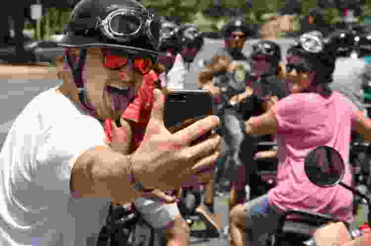 take a your biker gang tour for fun team building activities in austin