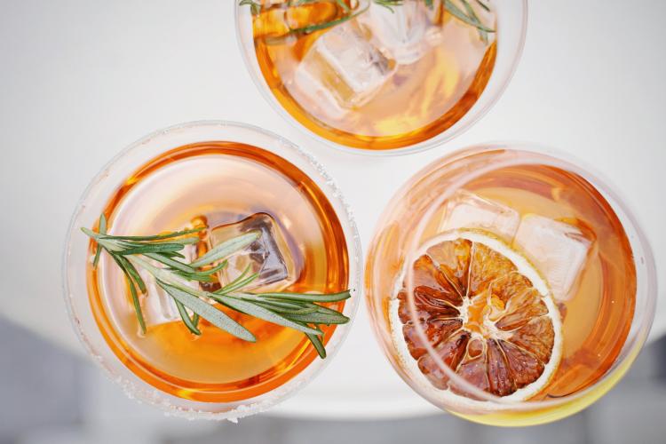 a cocktail recipe swap is a fun zoom ice breaker idea