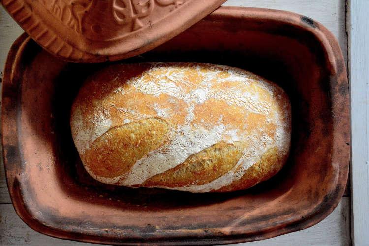 fresh home baked bread